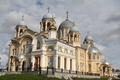Picture Church, Cathedral, temple, architecture, the dome, painting, thread, Holy cross, Verkhoturye, Nicholas
