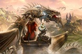Picture dragon, knight, Dragon Eternity