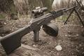 Picture optics, machine gun, Kalashnikov, manual, RPK-74