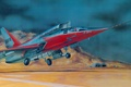 Picture North American F-107, figure, United States Air Force, tactical fighter-bomber
