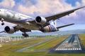 Picture art, a passenger plane, figure, Extended Range, three sevens, Zhirnov, Triple Seven, Boeing 777-300ER