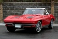 Picture Car, Red, Wallpapers, Machine, Beautiful, 1963, Red, Chevrolet, Corvette, Wallpaper, Corvette, Chevrolet, Sting Ray, Car