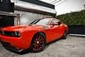 Picture challenger, dodge, SRT 10, red, garage