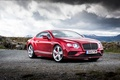 Picture red, Bentley, 2015, Speed, Continental, Bentley, continental