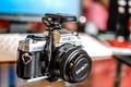 Picture macro, camera, Minolta x500 - 50mmf1.7, background