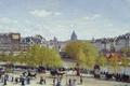 Picture Paris, picture, Quay Of The Louvre, the urban landscape, Claude Monet