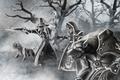 Picture wow, the Worgen, world of warcraft, werewolves, Gilneas