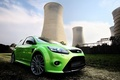 Picture green, ford, station, focus, electrical