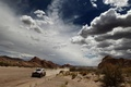 Picture The sky, Red, Clouds, Desert, Mini Cooper, Rally, Dakar, MINI, Mini Cooper