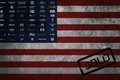 Picture flag, America, logos, brands