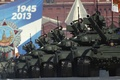 Picture tanks, holiday, Victory day, red square