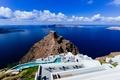 Picture sea, Santorini, Greece, stay, island, the sky, the hotel