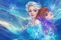 Picture Cartoons, Frozen, Elsa, Anna, Cold heart