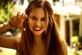 Picture facial expressions, photographer Bri Smith, photoshoot, Liana Liberato, teeth
