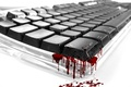 Picture Keyboard, blood