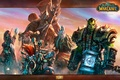 Picture Baine Bloodhoof, world of warcraft, Silvana, Sylvanas Windrunner, warchief, Thrall, weapons, wow, Vol'jin, Thrall, Vol'jin, ...