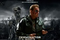 Picture Terminator-Genisys, girl, Arnold Schwarzenegger