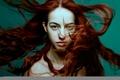 Picture A New Wind, Mirella, brown-eyed, hair, bokeh, redhead, stroke, Ynot Photographe
