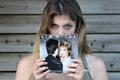 Picture record, retro 1981, Chequered Love, Kim Wilde, girl