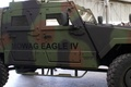 Picture car, wallpaper, military, eagle, garage, mechanical, armored, powerful, strong, camouflage, Swiss, military vehicle, mines, robust, ...