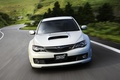 Picture road, car, Impreza, wrx, white, impreza, subaru, air intake, Subaru, white
