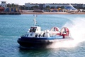 Picture speed, Hovercraft, shore, Bay, beach, the hovercraft, squirt