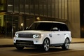 Picture Land Rover, Range Rover, Cars, White, White, Car, The evening, Car, Land Rover, Machine, Supercharged, ...