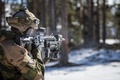 Picture weapons, army, Norwegian Army, soldiers