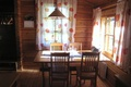Picture table, chairs, room, interior, country home