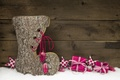 Picture Christmas, Christmas, wood, snow, decoration, gifts