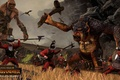 Picture total war, creative assembly, giant, halberd, total war, strategy, warhammer, battle, halberd fighters, fantasy, the ...