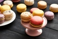 Picture dessert, dessert, cookies, almond, macaron, macaron, sweet, colorful, cookies