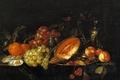 Picture berries, picture, Still life, fruit, Cornelis de hem, fruit