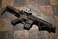 Picture background, rifle, carabiner, assault, semi-automatic, Mini M4