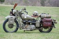 Picture engine, model, color, soldiers, khaki, motorcycle, military, American, was, Harley-Davidson, for, WW2, historical, main, military, ...