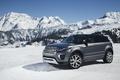 Picture wallpapers, Evoque, snow, snow, mountains, Land Rover, Range Rover, Autobiography, car, auto