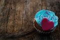 Picture cream, food, dessert, dessert, cupcakes, sweet, heart, love, food, cake, love, heart, muffins