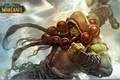 Picture the son of Durotan, World of Warcraft, Thrall, the leader, shaman