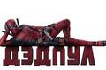 Picture poster, superhero, comic, Deadpool, Deadpool, the inscription, weapons, red, Ryan Reynolds, Ryan Reynolds, swords, white ...