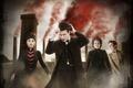 Picture look, Jenna Coleman, Jenna Coleman, smoke, male, girl, Clara Oswald, grandma, Doctor Who, dress, The ...