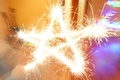 Picture sparklers, joy, star, star, light