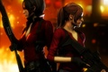 Picture weapons, girls, Resident Evil, capcom, Ada Wong, Claire Redfield