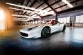 Picture light, lamp, garage, Ferrari, 458