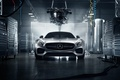 Picture Mercedes-Benz, Color, AMG, Workshop, GT S, Engine, 2016, Front, Silver