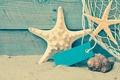 Picture sand, sea, beach, shore, shell, summer, beach, sand, starfish, seashells