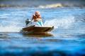Picture vintage, sport, speedboat
