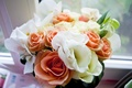 Picture tenderness, wedding, Flowers, bouquet