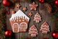 Picture Xmas, New Year, cakes, Merry, gingerbread, sweet, cookies, glaze, Christmas, Christmas, cookies, decoration