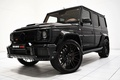 Picture Mercedes-Benz, Black, Wheel, Brabus, SUV, The front, W463