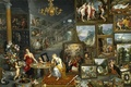 Picture flowers, interior, picture, genre, Jan Brueghel the elder, The sight and Smell